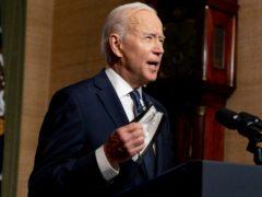 The Biden administration announced the sanctions on Thursday (Andrew Harnik/AP)