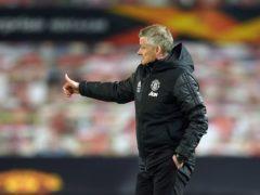 Ole Gunnar Solskjaer is targeting Europa League glory (Dave Thompson/AP)
