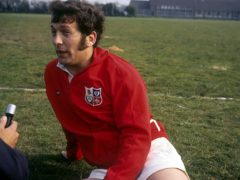 British and Irish Lions captain John Dawes, pictured in 1971 (PA)