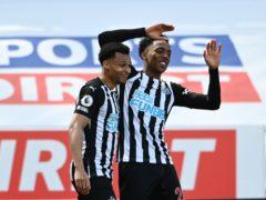 Newcastle's Joe Willock scored a late winner against West Ham (Stu Forster/PA)