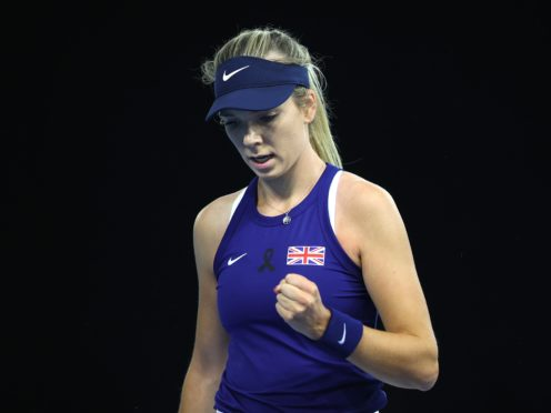 Katie Boulter (pictured) beat Giuliana Olmos 6-4 6-1 (Naomi Baker/PA)