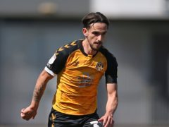Liam Shephard put Newport ahead on Tuesday night (Nigel French/PA)