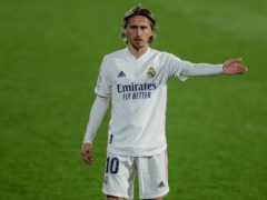 Luka Modric and Real Madrid were held to a frustrating goalless draw at Getafe (Manu Fernandez/AP)