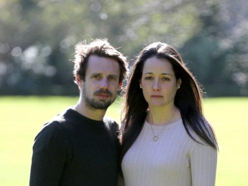Tom and Sarah Richford (Gareth Fuller/PA)
