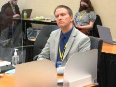Former Minneapolis police officer Derek Chauvin (Court TV via AP, Pool)