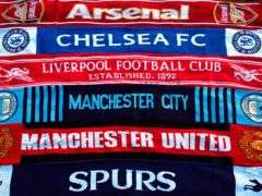 Football scarves (John Walton/PA)