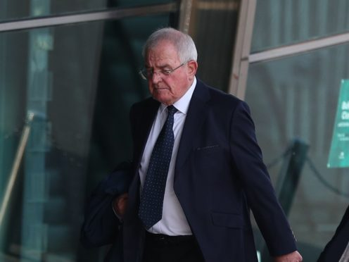 Retired South Yorkshire Police officer Donald Denton outside the court (Peter Byrne/PA)
