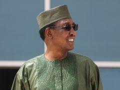 Idriss Deby Itno. (Ludovic Marin/Pool Photo via AP, File)