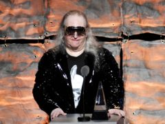 Jim Steinman speaks at the 2012 Songwriters Hall of Fame induction (Evan Agostini/Invision/AP)