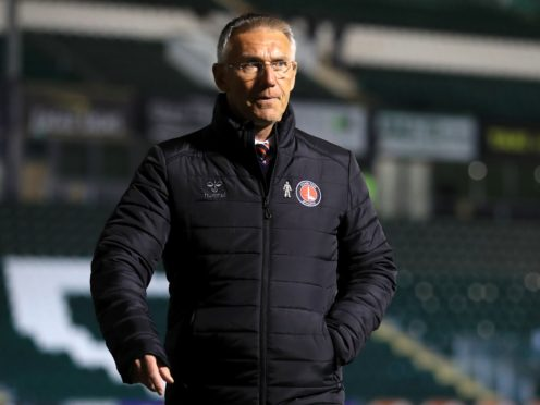 Nigel Adkins was delighted with Charlton's big win at Plymouth (Adam Davy/PA)