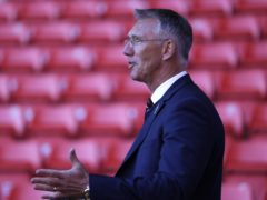Nigel Adkins is confident Charlton can make the play-offs (Steven Paston/PA)