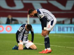 West Brom are close to Premier League relegation (Mike Egerton/PA)