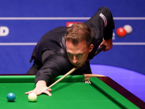 Judd Trump eased into the quarter-finals of the World Championship (George Wood)