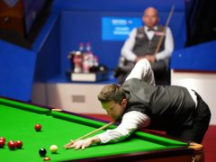 Mark Selby took the lead (Zac Goodwin/PA)