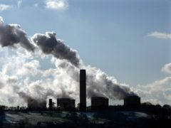 The PM will commit to cutting carbon emissions by 78% by 2035 compared with 1990 levels (David Jones/PA)