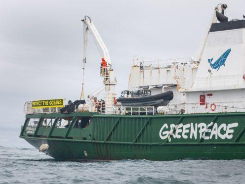 (Suzanne Plunkett/Greenpeace UK/PA)