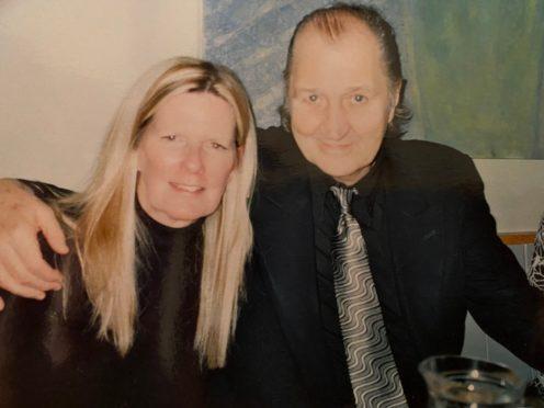 Carol and Frank Worthington together (PA Handout)