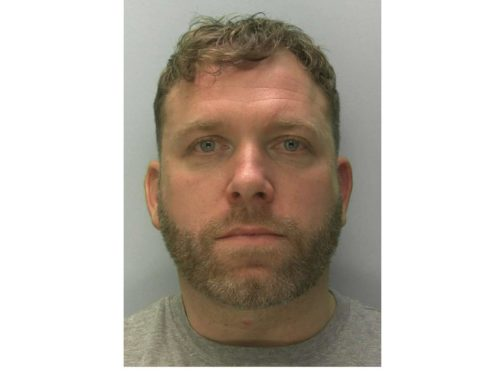 Former professional footballer Shayne Bradley has been jailed for stalking a former partner (Gloucestershire Police/PA)