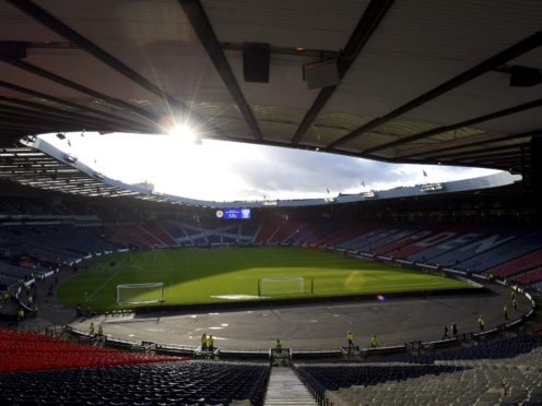 Douglas Ross said it should be 'possible' for the final match to be held at the Glasgow stadium (Ian Rutherford/PA)