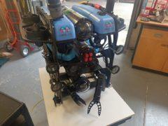 An underwater robot (National Robatorium/PA)