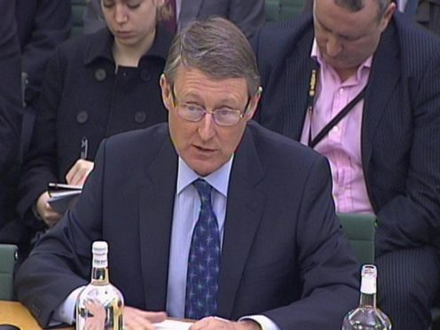 Former Home Office permanent secretary Sir David Normington said he was 'baffled' by the recent revelations around Civil Service lobbying (PA)
