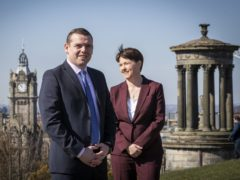 The Tories have a 'darker edge' under Douglas Ross than they did under Ruth Davidson, Willie Rennie claimed. (Jane Barlow/PA)