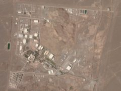 Israeli media outlets suggested a blackout at Iran's Natanz nuclear site was a cyber attack (Planet Labs Inc/AP)