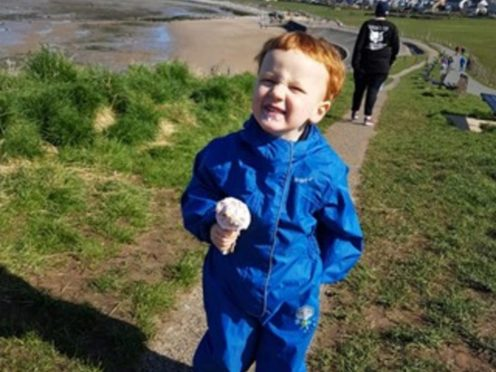 Two-year-old George Hinds (Lancashire Police/PA)