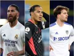 Sergio Ramos, Virgil Van Dijk and Patrick Bamford are not going to the Euros (PA)