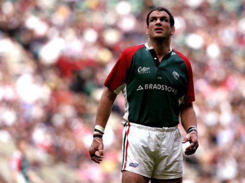 England and Leicester great Martin Johnson endured a disappointing end to his career (David Davies/PA)