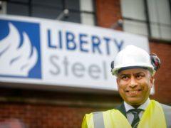 Sanjeev Gupta, the head of the Liberty Group. (Danny Lawson/PA)
