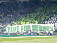 Hibernian fans will be back in Hampden for the Scottish Cup final (PA)