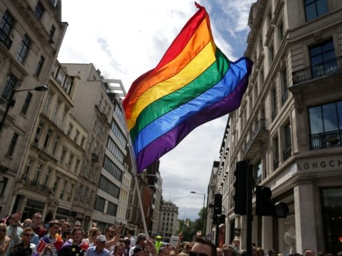 The Government is to launch a consultation on how best to protect LGBT people when it bans the 'abhorrent practice' of conversion therapy (Jonathan Brady/PA)
