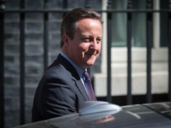 David Cameron faces questions from MPs over his lobbying for Greensill Capital (Stefan Rousseau/PA)