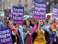 The Government has reduced the fee to apply for a gender recognition certificate (David Cheskin/PA)