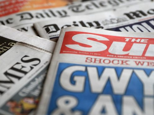 What the papers say – May 28 (PA)