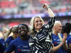 Eni Aluko (left) was at Chelsea under Emma Hayes (right) from 2012 to 2018 (Adam Davy/PA)