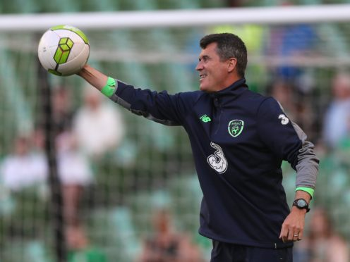 Roy Keane was raising money for charity (Brian Lawless/PA)