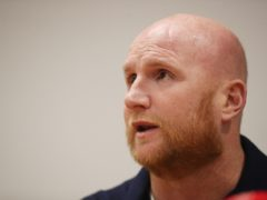 John Hartson backed Scottish Labour's plan for a cancer recovery programme in the next parliament (Niall Carson/PA)