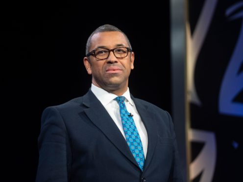 James Cleverly (Victoria Jones/PA)