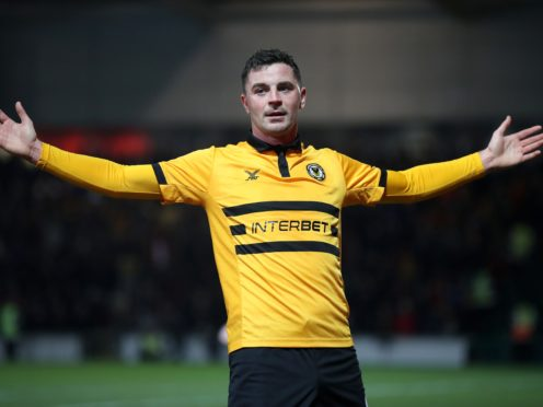 Newport's Padraig Amond is desperate to erase the memory of play-off final defeat (Nick Potts/PA)