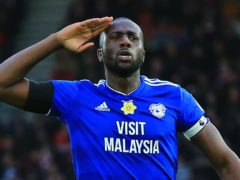 Sol Bamba was diagnosed with Non-Hodgkin lymphoma in December but has just been given the all clear (Mark Kerton/PA)