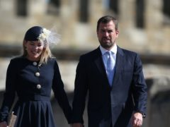 Autumn Phillips and Peter Phillips during their marriage (PA)