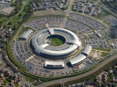 GCHQ director Jeremy Fleming has warned that, without action, the UK's prosperity and security will be under threat from the likes of Russia and China (GCHQ/PA)