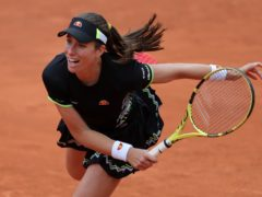 Johanna Konta is looking to find her form on the Parisian clay (Richard Sellers/PA)