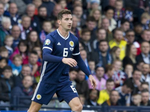 Kenny McLean will play no part for Scotland at Euro 2020 (Jeff Holmes/PA)