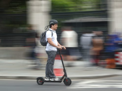 A trial of rental electric scooters will be launched in London next month despite safety concerns (Yui Mok/PA)