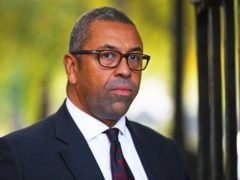 James Cleverly called footage from the region 'heart-breaking' (Aaron Chown/PA)
