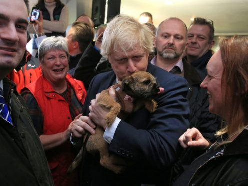 Boris Johnson said the theft of a dog can cause 'huge pain' for owners (Lindsey Parnaby/PA)