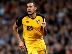 Cristian Montano misses Port Vale's final game of the season through suspension (Martin Rickett/PA)